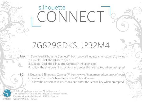 Software / Codes: Silhouette Connect